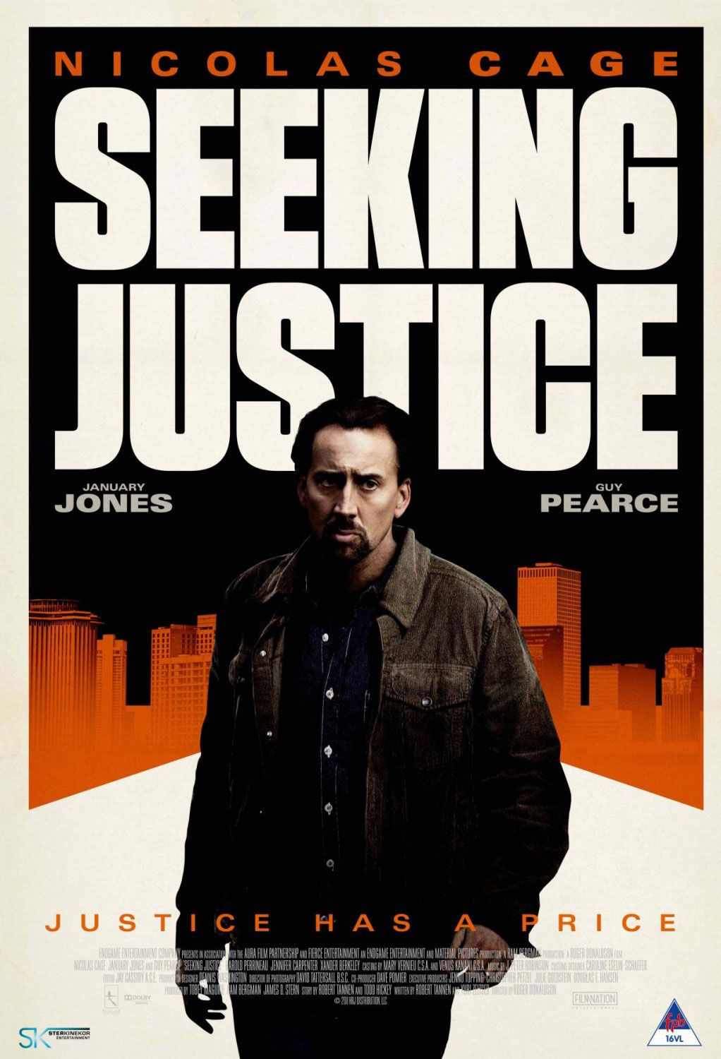 Now Playing Seeking Justice 2011 Nicolas Cage Justice Movie Posters