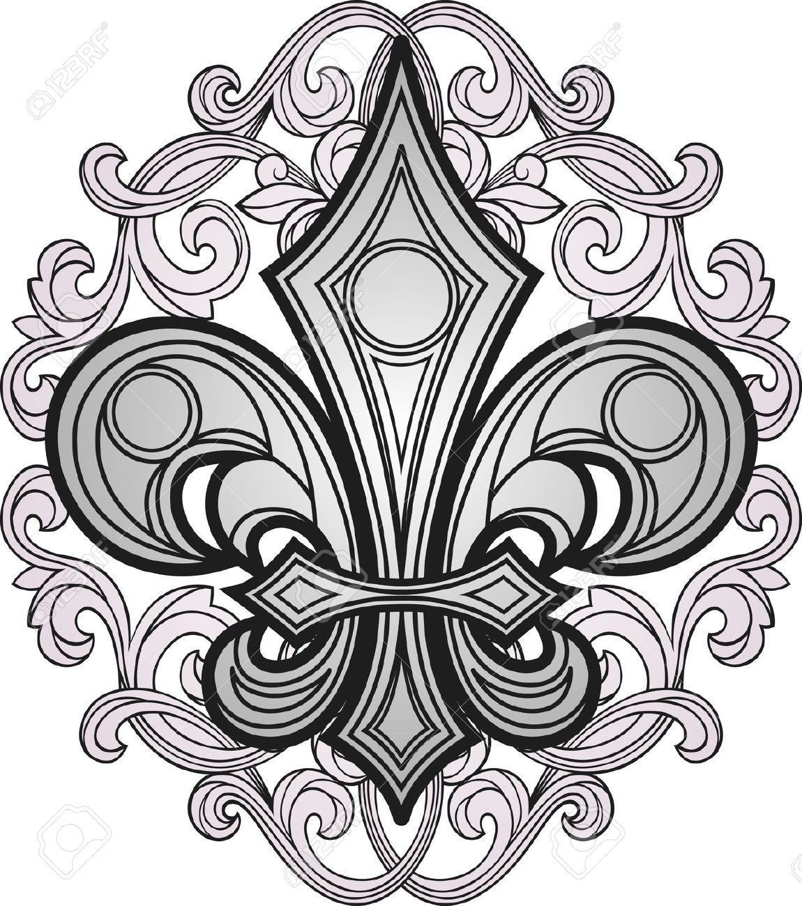 Printable Fleur De Lis Graphics Free Google Search Cover Up Tattoo Art Clip Art