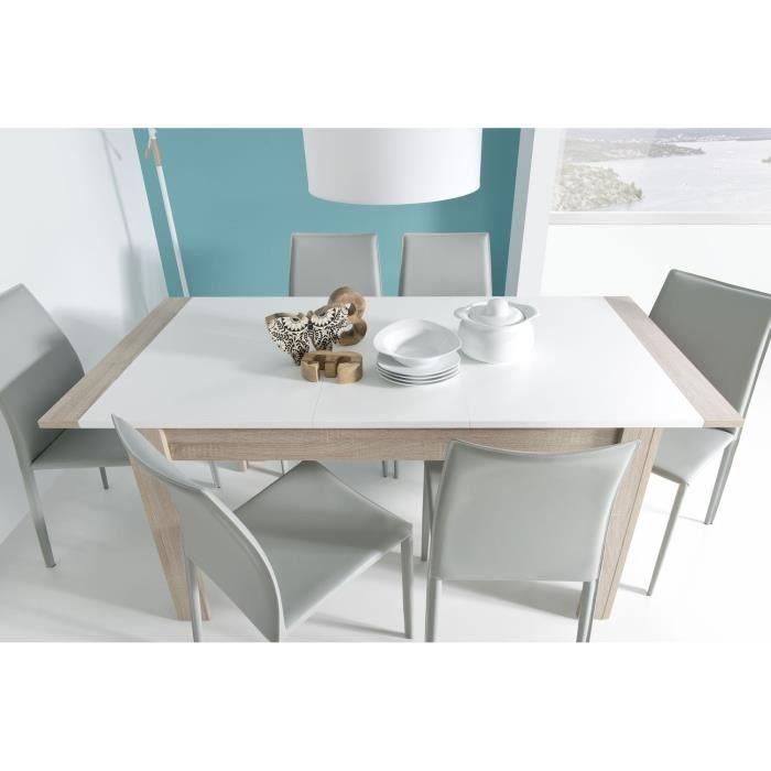Swing Cm Extensible Chêne Achat 140180 Blanc Table Et Vente E2IDH9WY