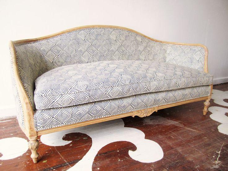 Reupholstered Antique Sofa Sofa Reupholstered Furniture