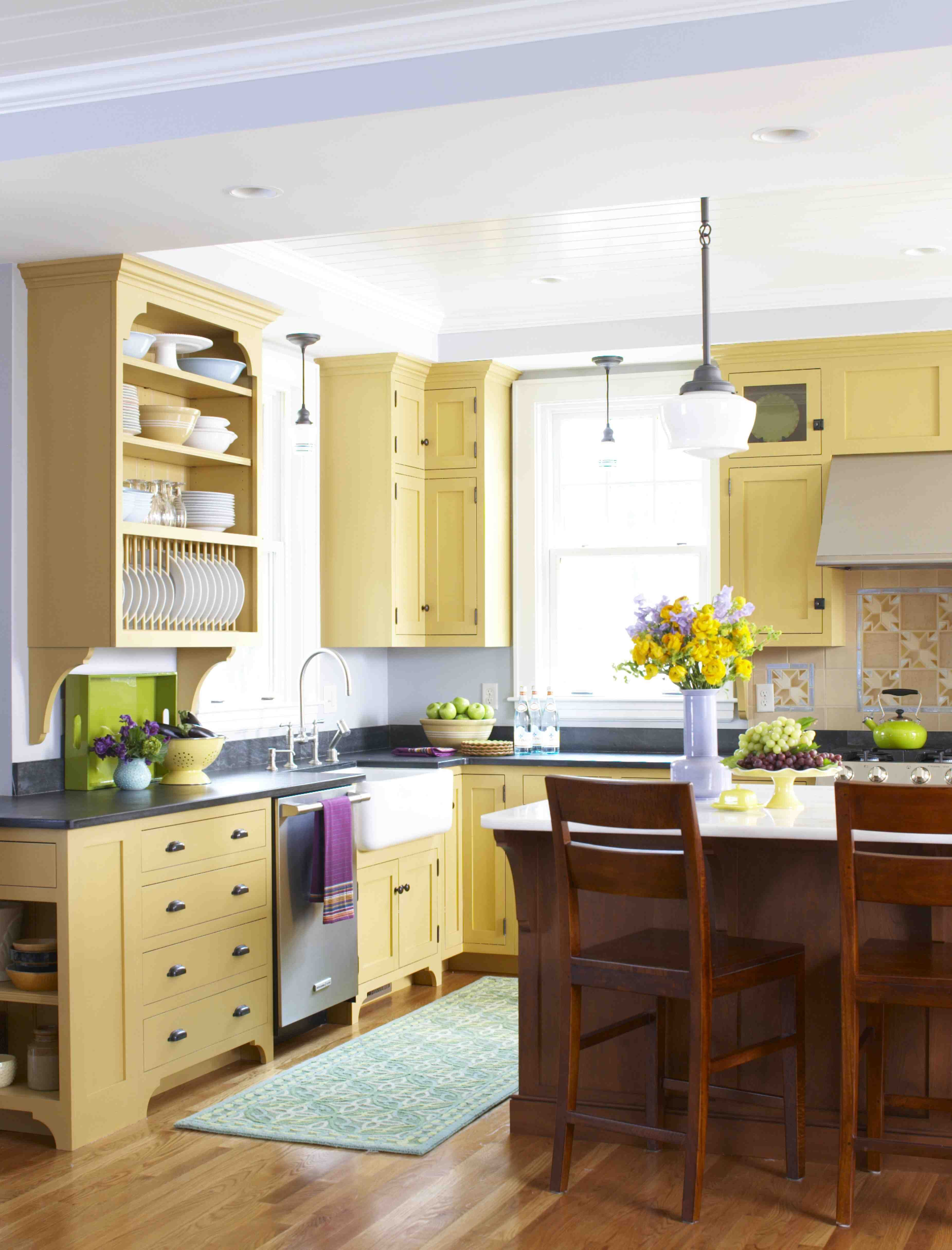 Style Archive—Mellow Yellow Kitchen | Kitchens, Woods and Yellow ...