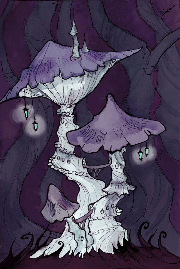 Mushroom Tower by IrenHorrors.deviantart.com on @deviantART
