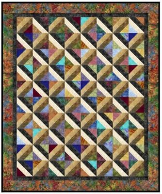 Marble Pools Quilt Pattern AA-20 pattern for sale on site