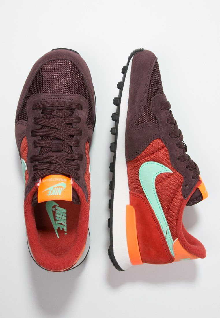 2e10e407b6cf Nike Sportswear INTERNATIONALIST - Baskets basses - mahogany green  glow cinnabar total orange - ZALANDO.FR