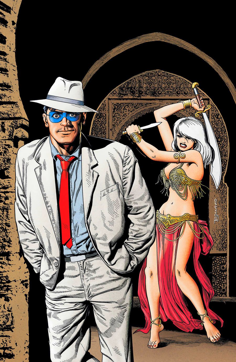 Brian Bolland, tribute to Will Eisner