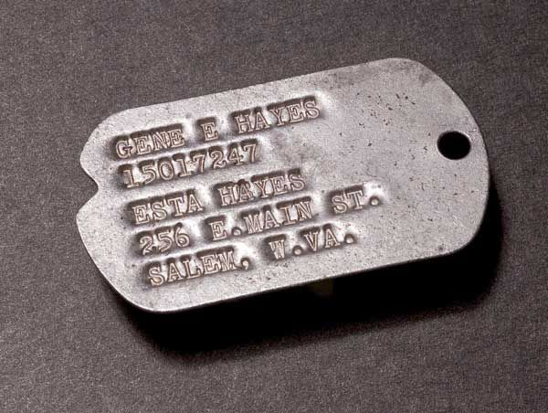 Dog Tag Dog Tags Wwii Notch Notched History Information
