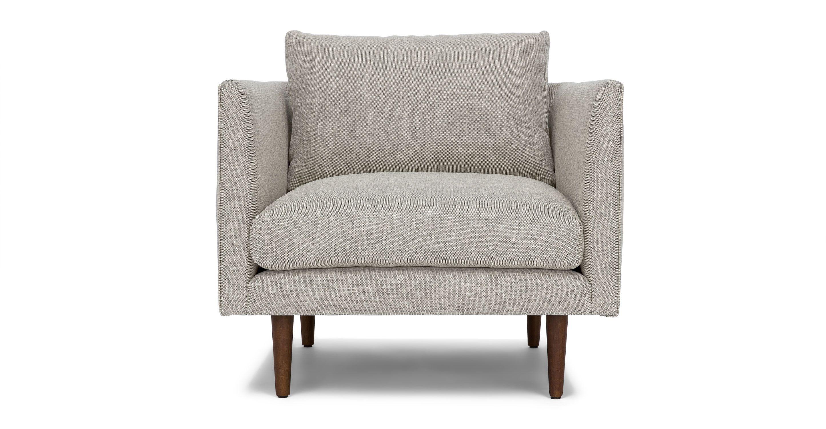 Grey Mid Century Modern Chair