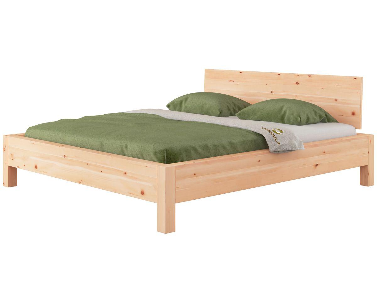 "Zirbenbett ""Kurt"" 180 x 200 cm Bett, Zirben und Holzbett"