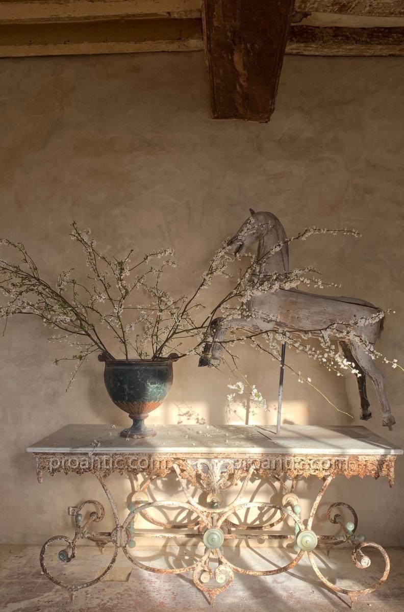 Table De Boucher Xix Eme S Antiquites Quattrocento Proantic