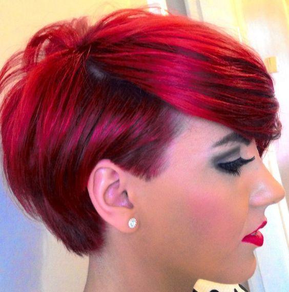 5 Faszinierende Kurze Rote Frisuren Frisur Rot Kurze Rote Haare Haarfarben