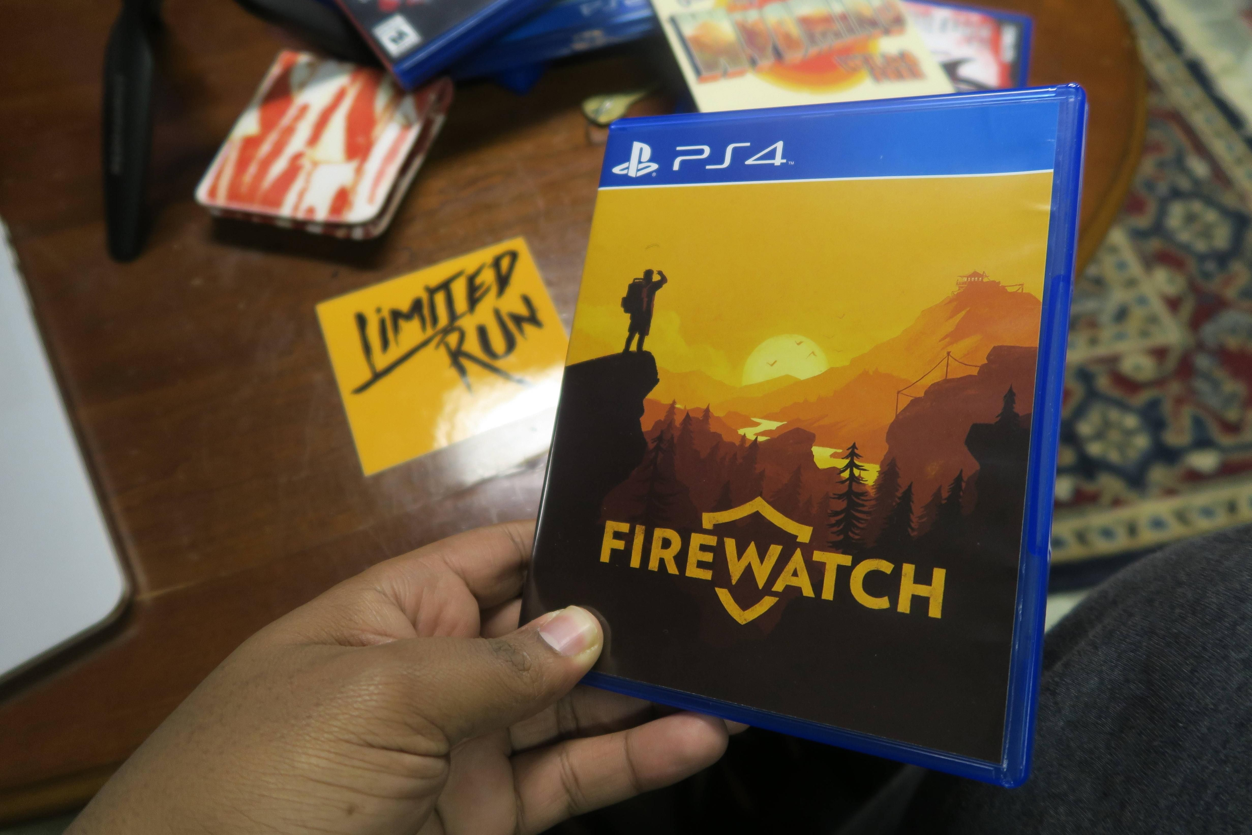 My Limited Run of Firewatch heard about it from Reddit now posting about it!