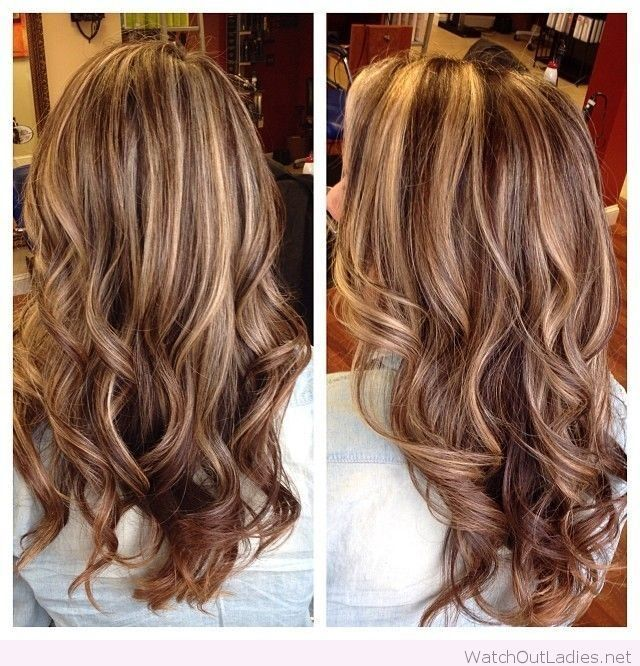Highlights And Lowlights In This Color Hair Makeup Pinterest