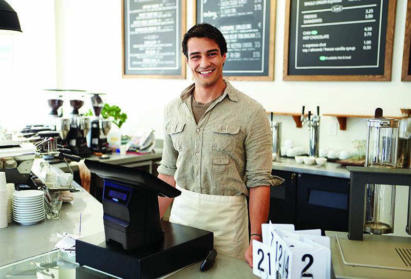Billy Maxi fiskalna blagajna Opening a cafe, Starting a