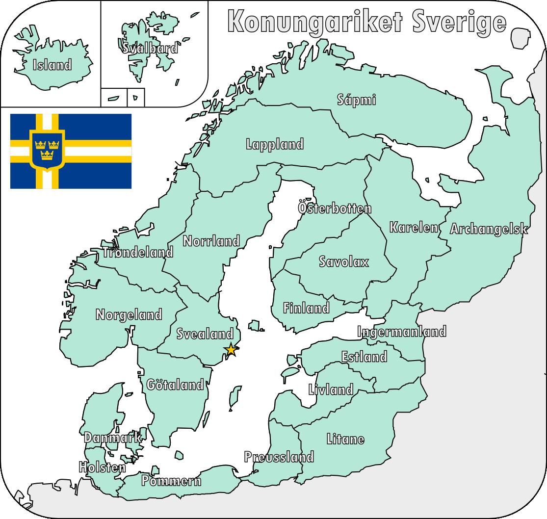Map Of The Swedish Empire By Martin23230 Deviantart Com On Deviantart Map Historical Maps European Map