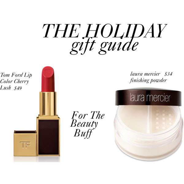 The Holiday Gift Guide by bchicbglamorous, via Polyvore