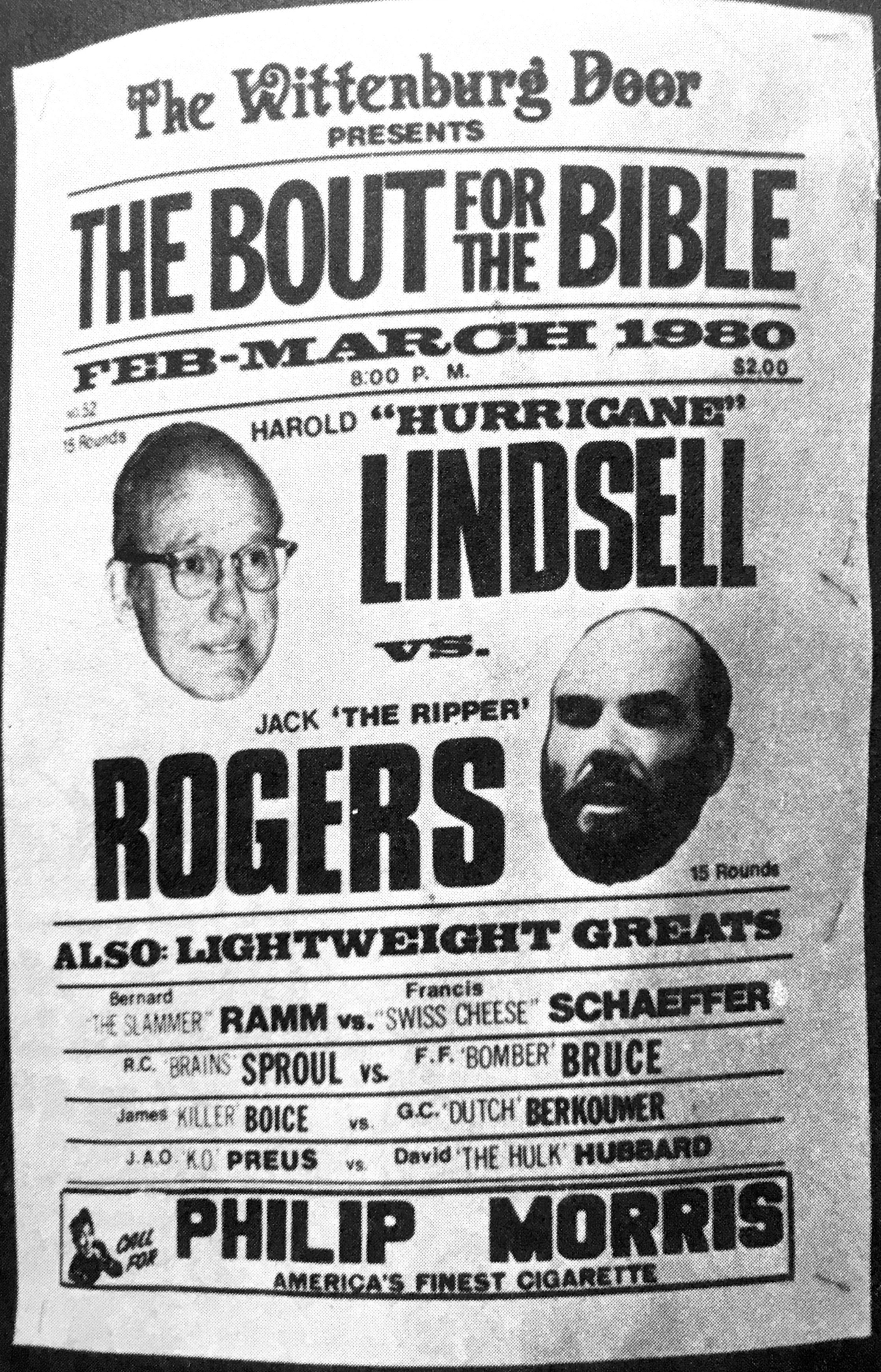 The Bout For the Bible Harold  Hurricane  Lindsell vs Jack  The Ripper   sc 1 st  Pinterest & The Bout For the Bible Harold