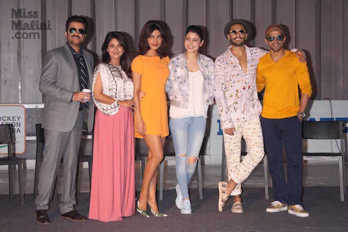 Team 'Dil Dhadakne Do' Tour Diaries: Screening and Promotion .