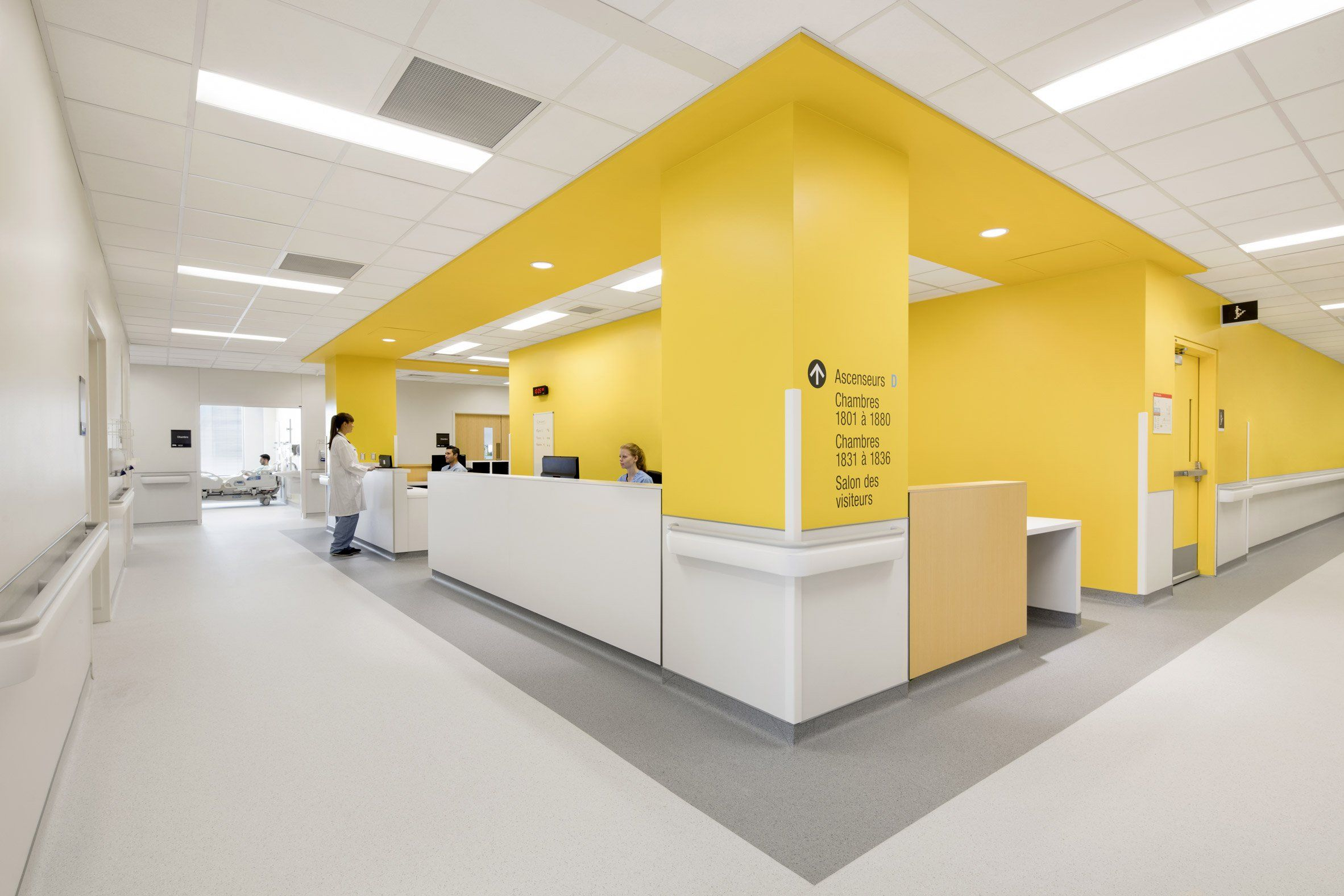 CHUM by Cannon Design and NEUF | DESIGN | Hospital
