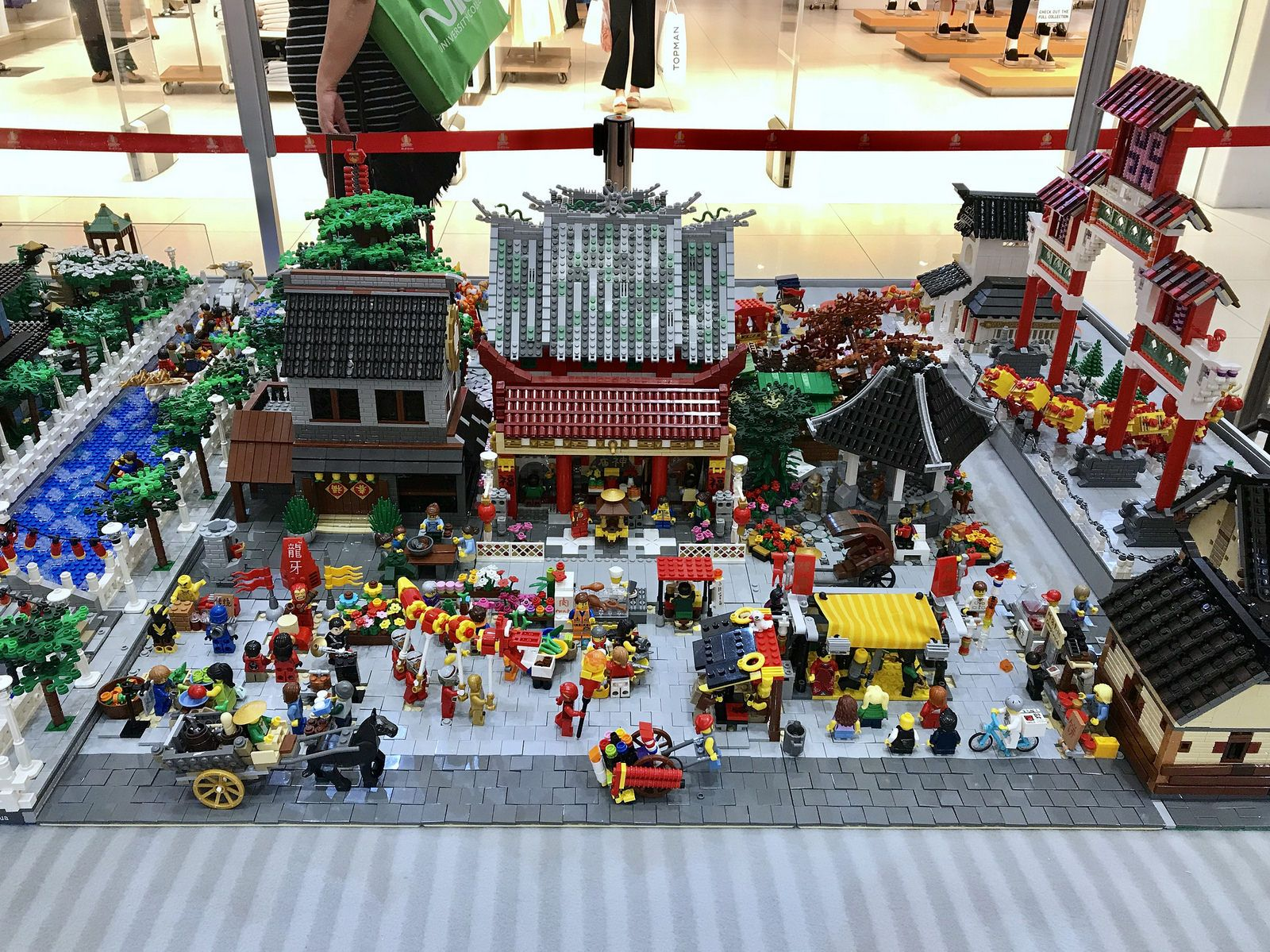 Chinese New Year Festival Lego Creations Lego Chinese New Year