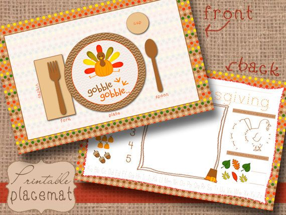 How To Decorate A Dining Room Trendy New Designers Thanksgiving Placemats Preschool Thanksgiving Placemats Thanksgiving Crafts Preschool