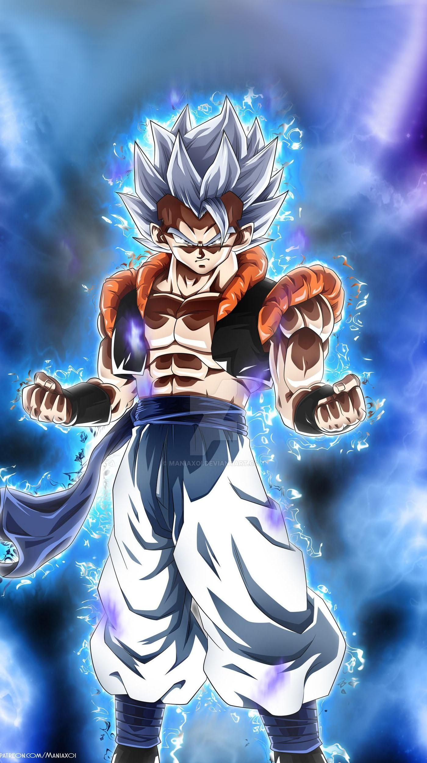Gogeta Dragon Ball 1400x2500 Live Wallpaper In Comments