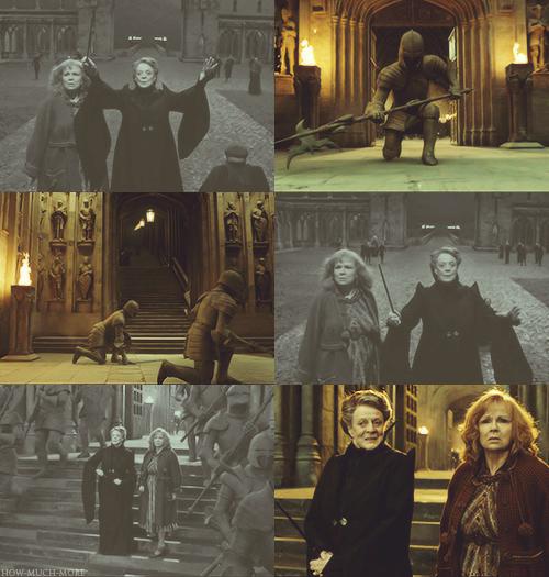 Finite Incantatem Hogwarts Painting Art