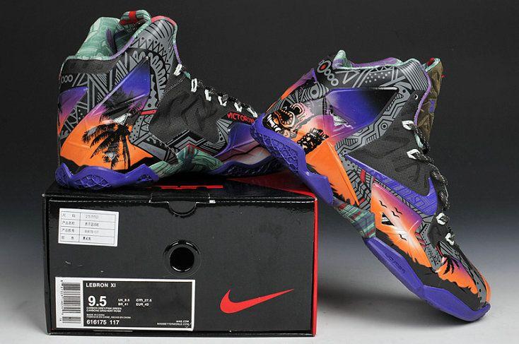 3fdabf38bf6 Nike LeBron 11 Kings Crown Floral Kings Pride hawaii | Lebron 11 ...