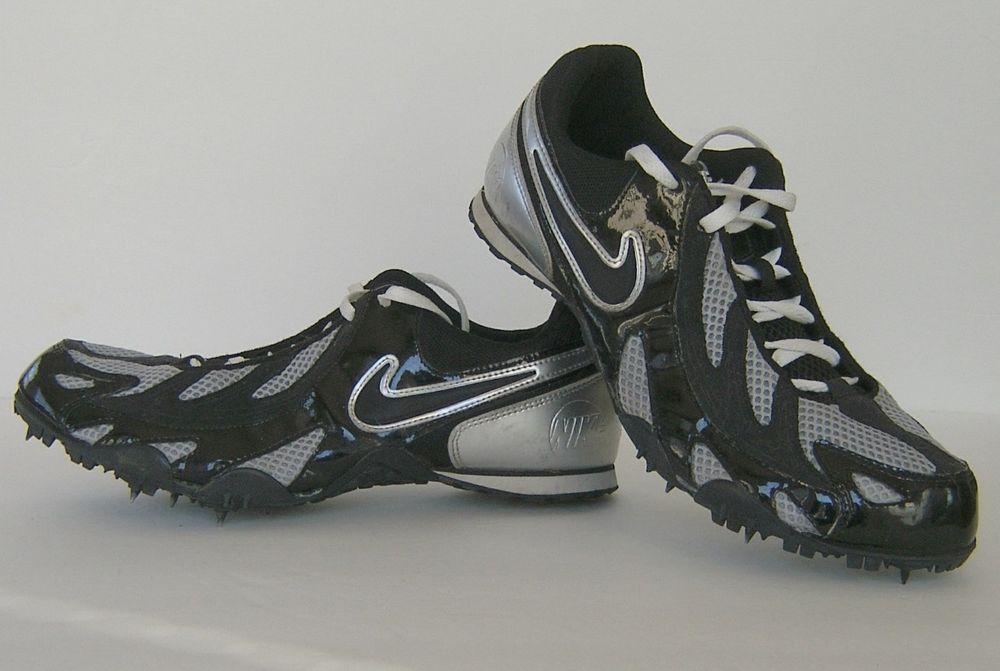 Nike Mens Track Shoes Cleats Spikes Bowerman Series Sz 10 gray