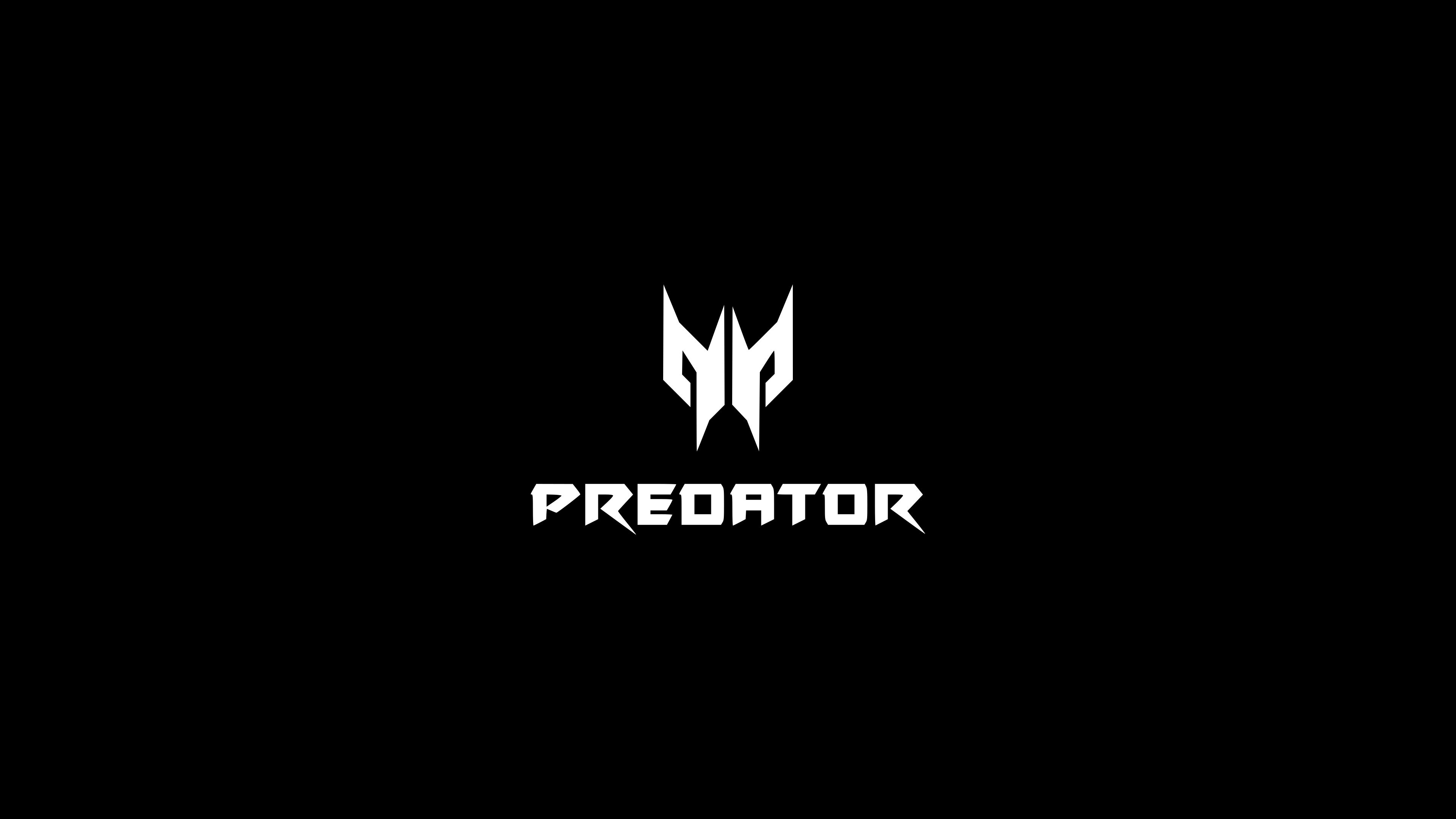 Acer Predator White Logo 3840x2160 Wallpaper
