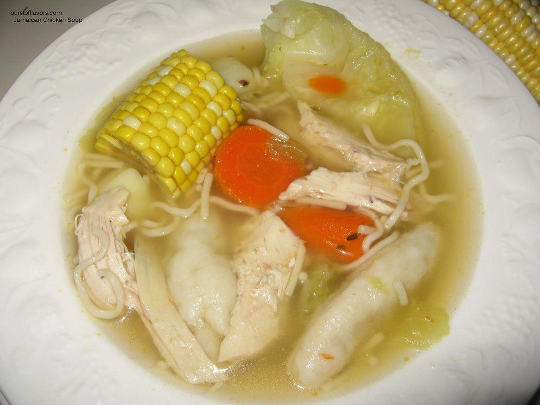 jamaican chicken soup respek  jamaican recipes
