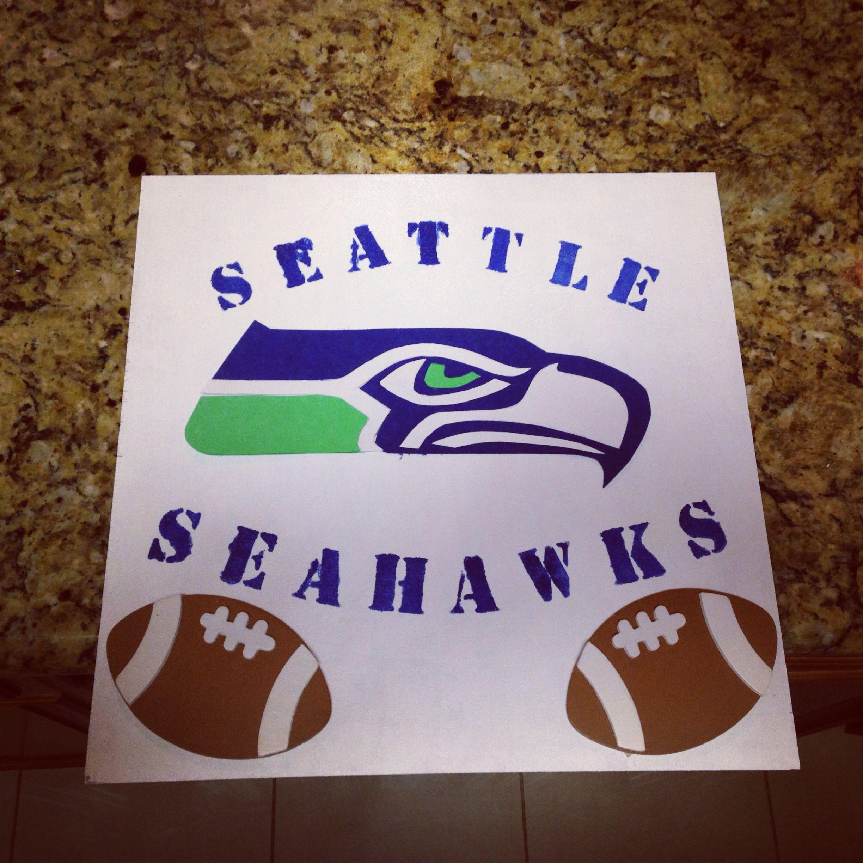 Diy Seattle Seahawks Decor