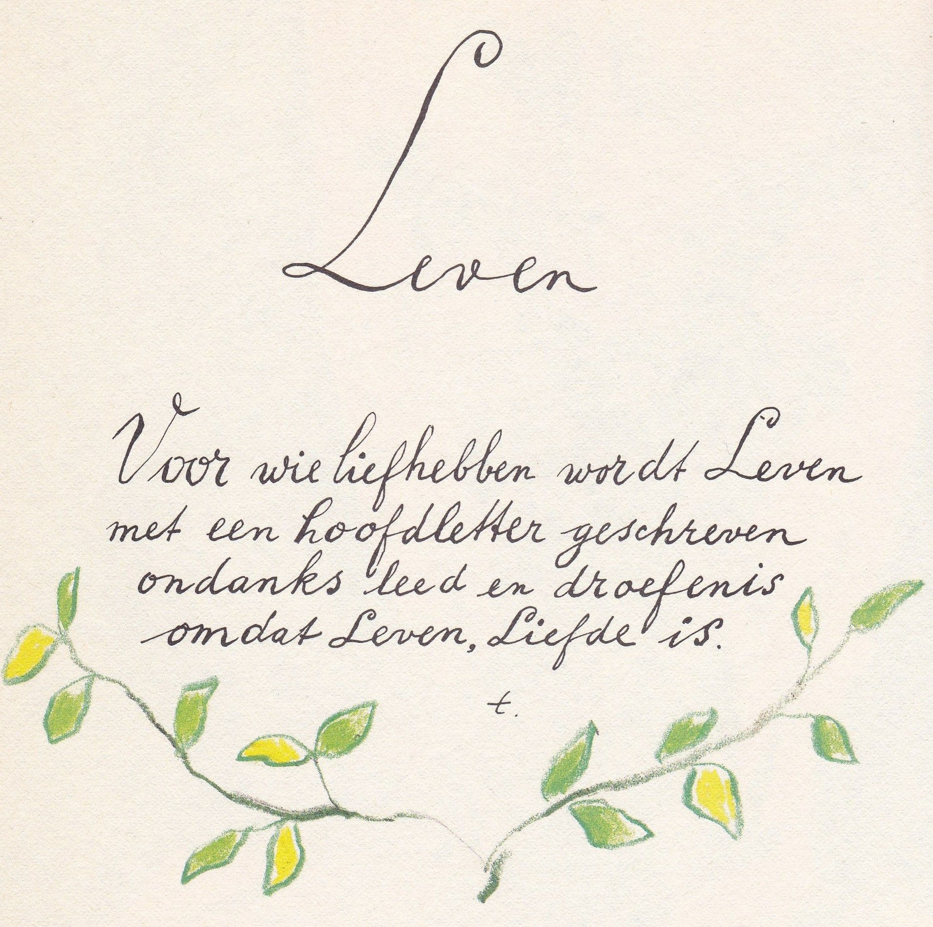 New Leven Toon Hermans | Paula | Pinterest | Toon hermans, Poem and Wisdom @ZU46
