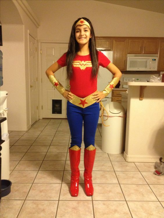Wonderful DIY Wonder Woman By Pinterest User Kenya Spencer