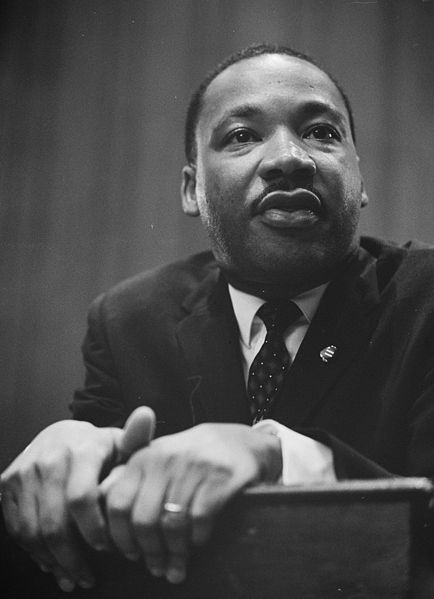 In 1964 Martin Luther King received the Nobel Peace Price.