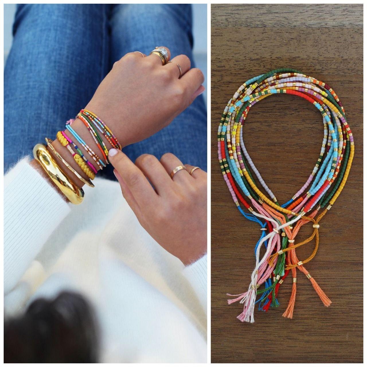 Diy Beads: DIY Morse Code Seed Bead Bracelet Tutorial From Honestly