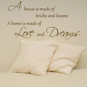 #house #home #quote