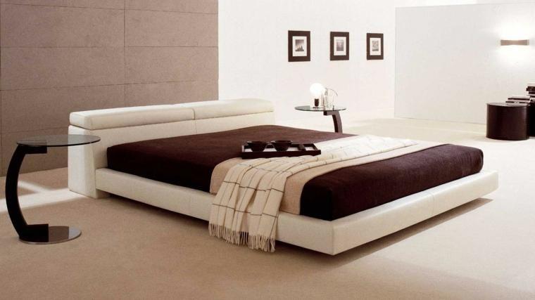 Japanische Betten für modernes Interieur (mit Bildern