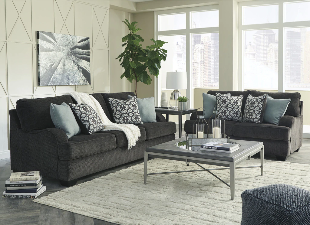 Best The Charenton Charcoal Living Room Collection Charcoal 400 x 300