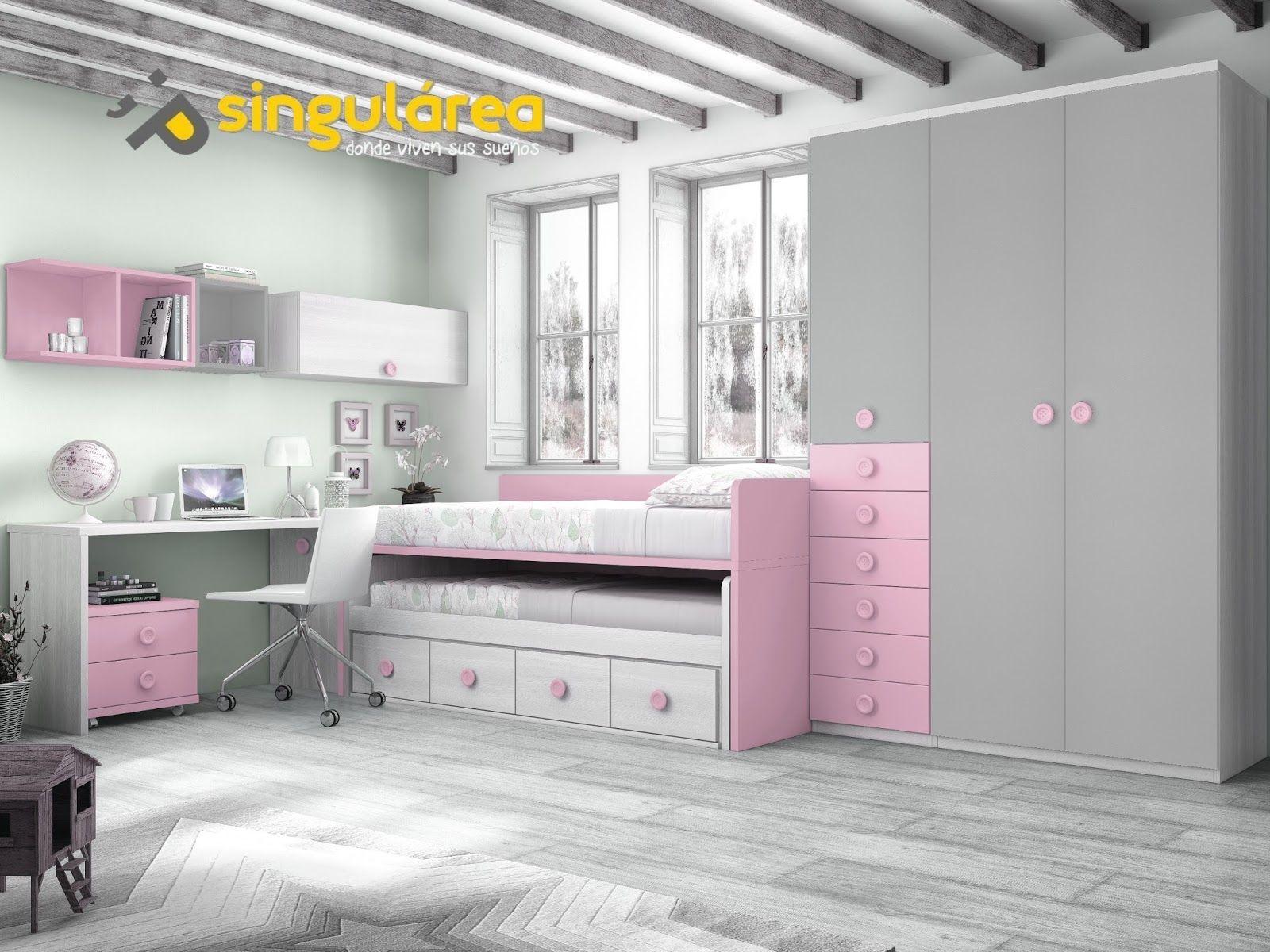 Dormitorio juvenil 605ct278 muebles dormitorios for Muebles zapateros juveniles