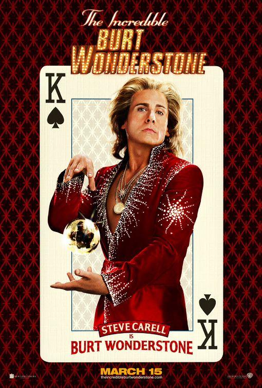 The Incredible Burt Wonderstone 2013 1eyejack Promo Flyer Peliculas Cine