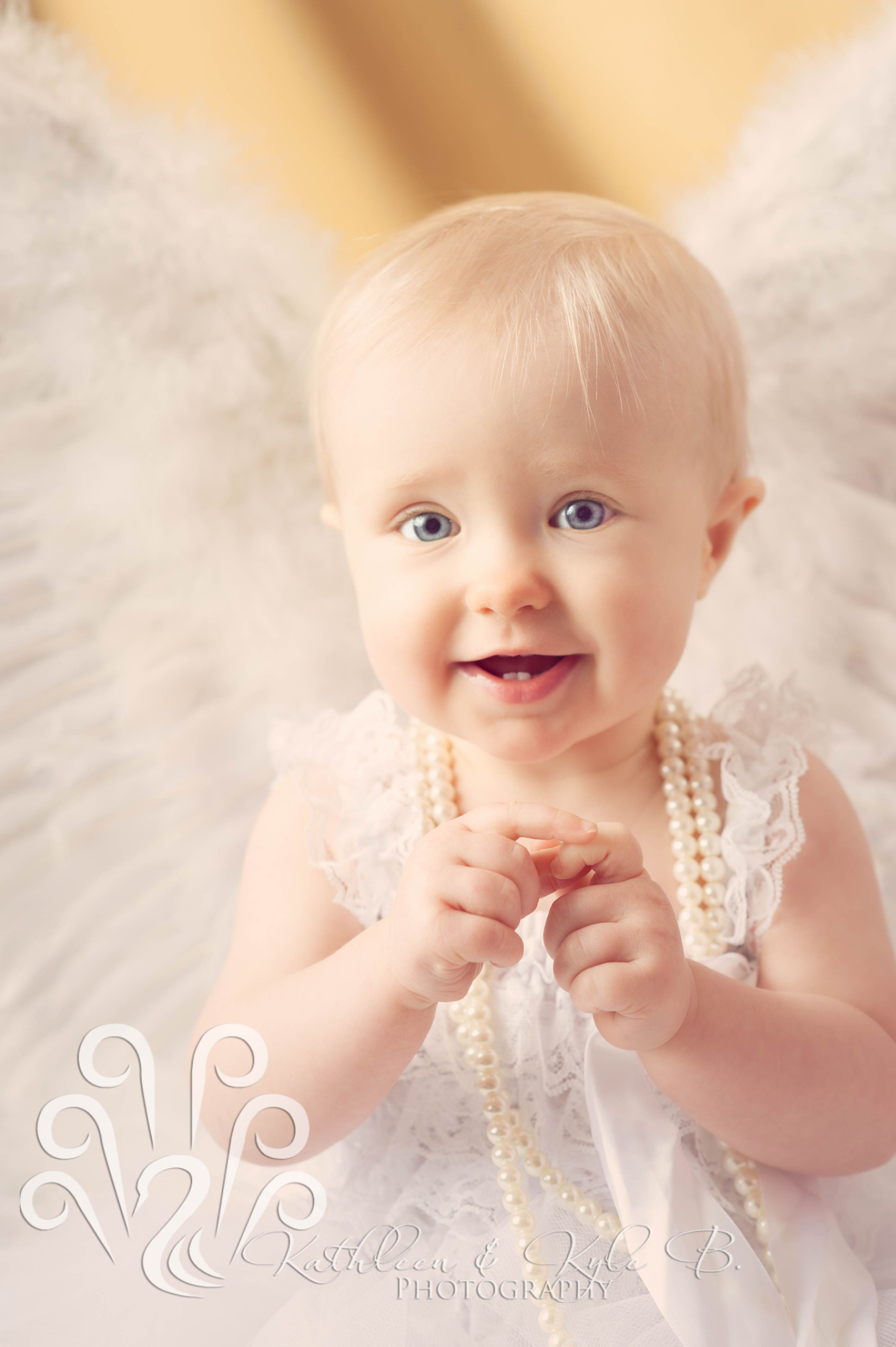1st Birthday, Angel Session, child photography, Claremore