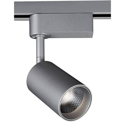 Silver 3 1 2 W Dimmable 8w Led Lightolier Track Head