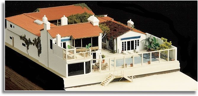 Miniature Residential House Model Architectural Models