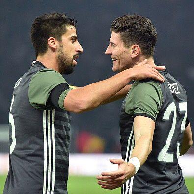 Sami Khedira and Mario Gómez 26.3.16