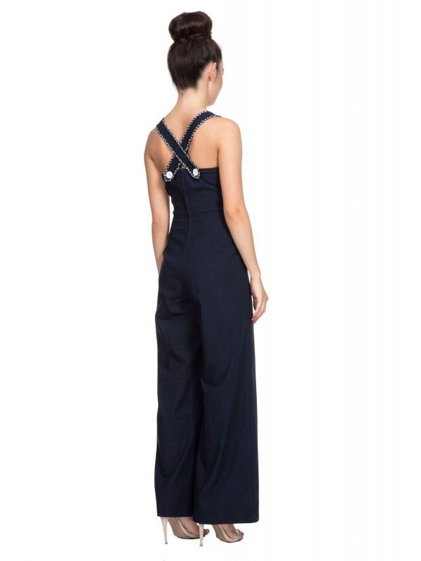 a52ed88ad26 65% Rayon 32% Nylon 3% Elastane Woven Ladies Jump Suit