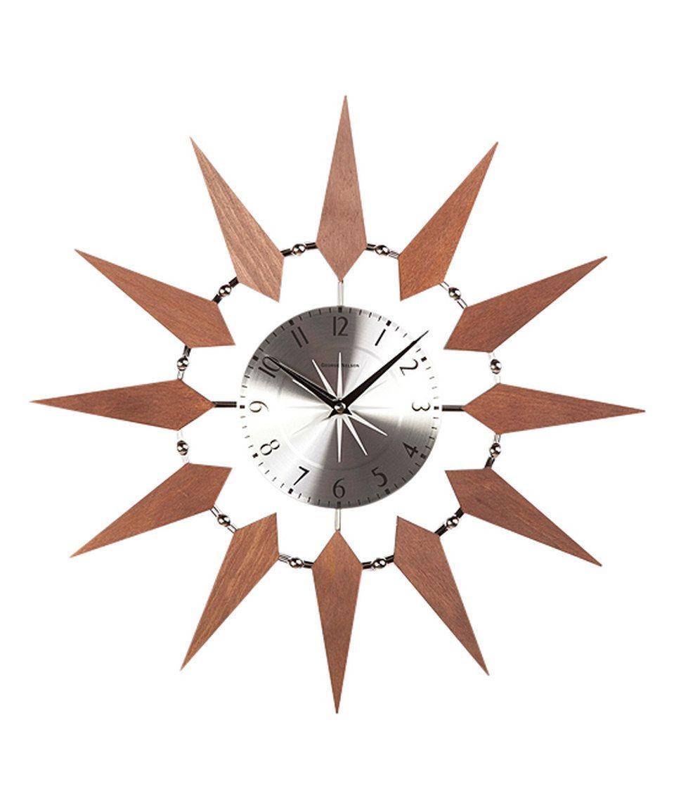 Starbust Clock by Control Brand #zulily #zulilyfinds