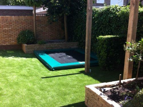Trampoline Kleine Tuin : Kleine tuin trampoline google zoeken speelhuisje in