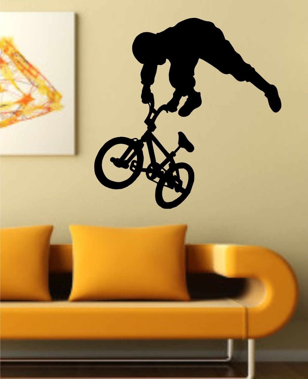 BMX Rider Version 106 Decal Sticker Bike Bicycle X Games Racing Boy ...