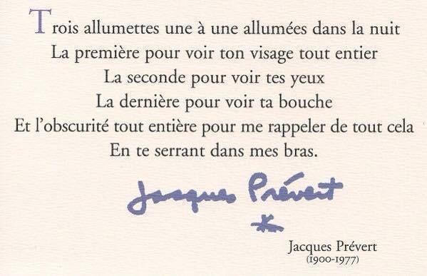 jacques prevert poeme trois allumettes libero chat gratis