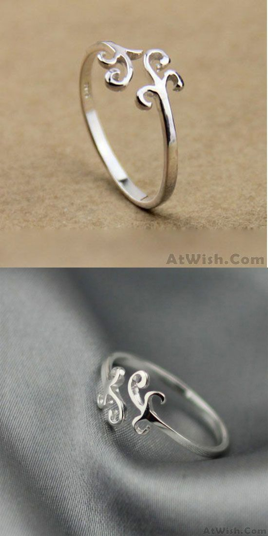 Sweet Simple Cloud Silver Ring is s romantic gift ! #gift #ring ...